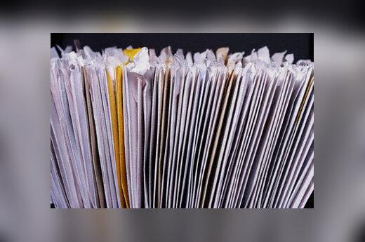 Popieriai, dokumentai, laiškai, vokai