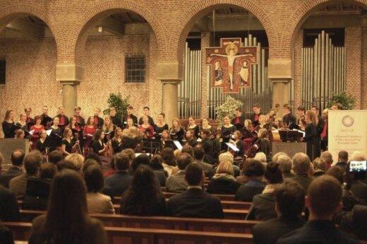 Olandų širdis palietė lietuviška muzika