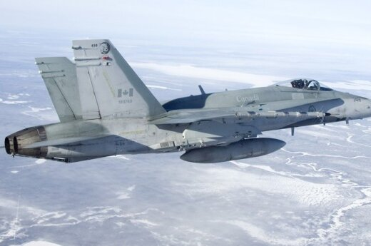 F-18 Hornet fighter jet of the Royal Canadian Air Force