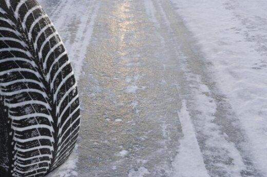 На Таллинском шоссе кювет съехал автобус Ecolines с 29 пассажирами