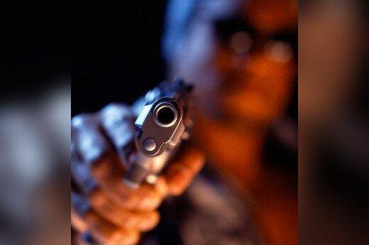 šauti, šautuvas, ginklas, pistoletas