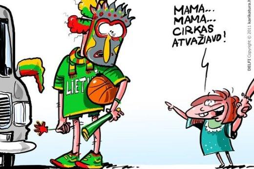 Охваченные баскетбольной эйфорией, жители Литвы тратят больше