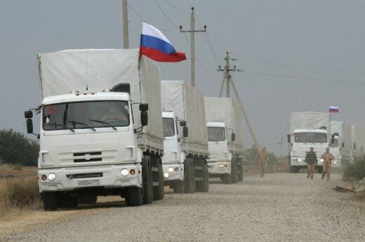 Конвой Путина вернулся из Донбасса в Россию