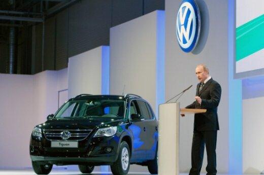 """V.Putinas kalba """"Volkswagen"""" renginyje"""