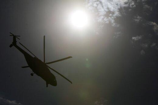 В Латвии вертолет упал в болото, пострадал гражданин Финляндии