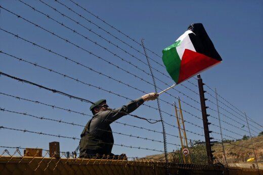Palestine expects Lithuanian support in talks with Israel