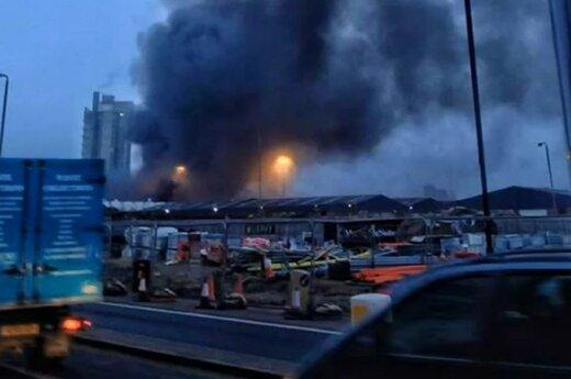Wielka Brytania: W centrum Londynu rozbił się helikopter