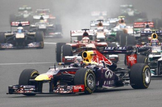 """""""Formulės-1"""" lenktynių etapas Indijoje"""
