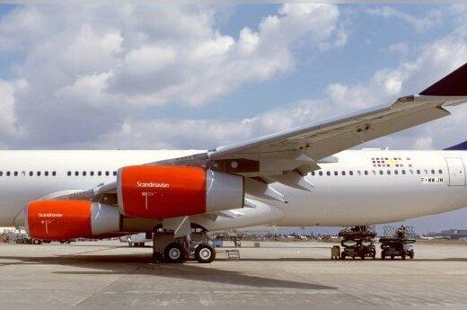 SAS не раскрывает, будет ли летать в Литву