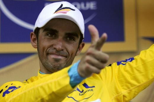 Alberto Contadoras tapo lyderiu