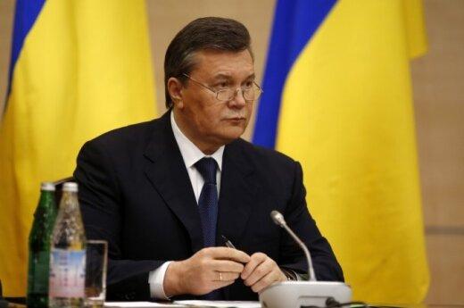 Литва запретила въезд Януковичу и еще 17-ти представителям бывших властей