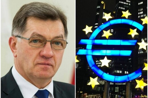 Премьер Литвы: подам в отставку, если в январе 2015 года не будет евро