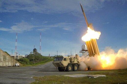 Pietų Korėjoje pradėjo veikti JAV priešraketinės gynybos sistema THAAD