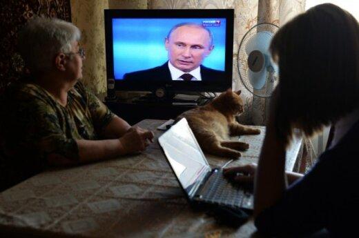 На телеэкранах – опасность для Литвы