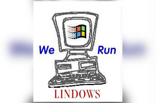 "We run ""Lindows"""