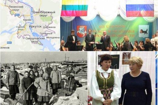 Иркутск: молодежь и потомки ссыльных интересуются Литвой