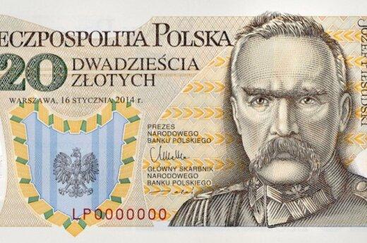 Nowe 20 zł z Piłsudskim. Foto: NBP