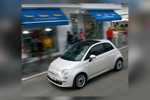 "Naujasis ""Fiat 500"""