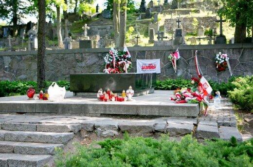 1 listopada na cmentarzach Wileńszczyzny