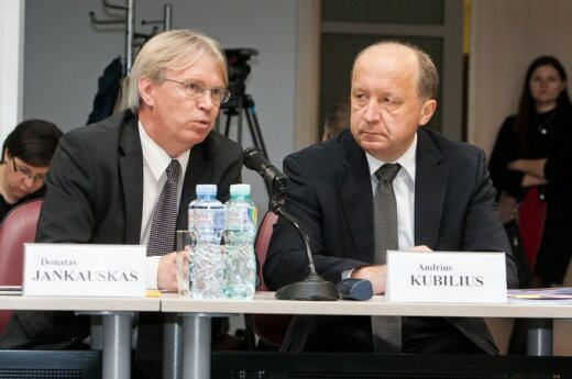 Donatas Jankauskas ir Andrius Kubilius