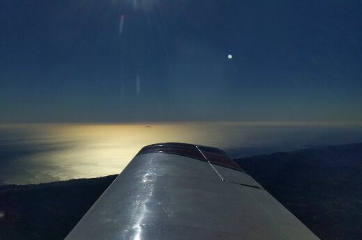 Vaizdas pro lėktuvo langą
