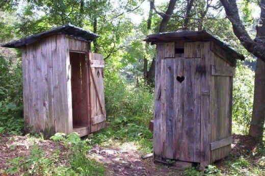 Lauko tualetai - nitratų vandenyje priežastis