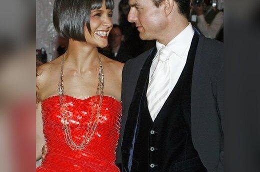 Katie Holmes ir Tomas Cruise.