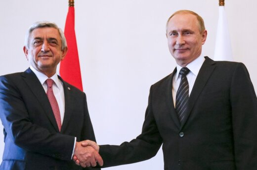 Vladimiras Putinas,  Seržas Sarksianas