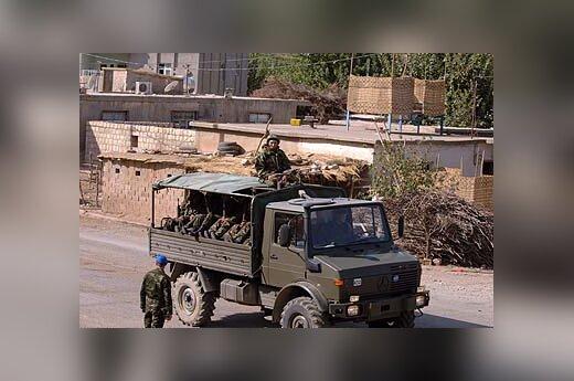 Turkijos kariai Irako pasienyje