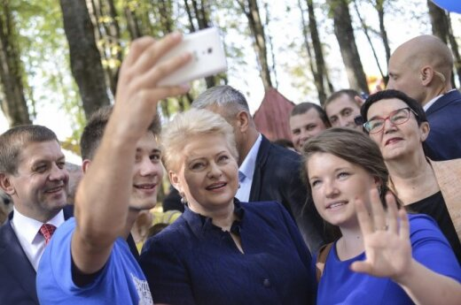 President Grybauskaitė addresses Polish speakers: I equally love all people of Lithuania