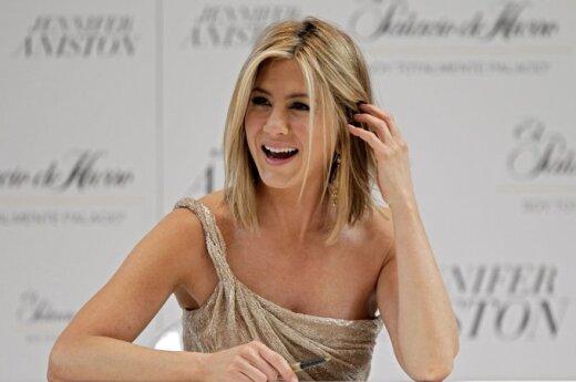 Jennifer Aniston odchudza się uśmiechem
