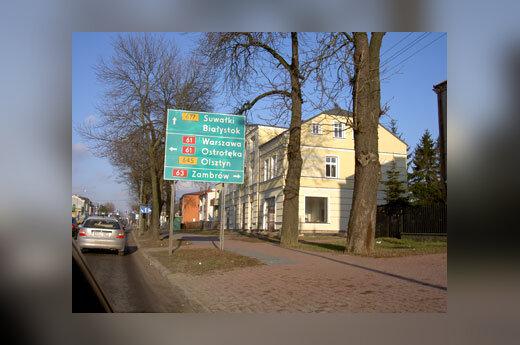 Kelio ženklas Lenkijoje