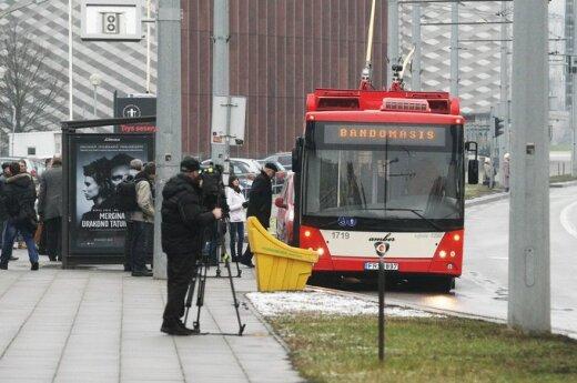 Vilniuje surinkti troleibusai išriedėjo į gatves