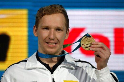World Champion Simonas Bilis
