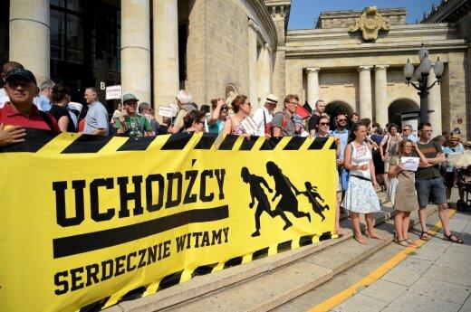 Lenkija nesutaria dėl pabėgelių
