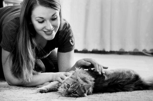 Apie mylimą kačiuką: nebesuprantu, kaip prieš tai gyvenau be jo