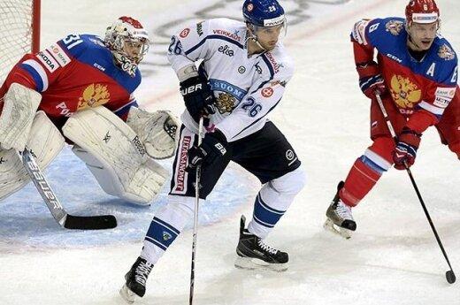 В стартовом матче Евротура сборная России уступила финнам (ВИДЕО)