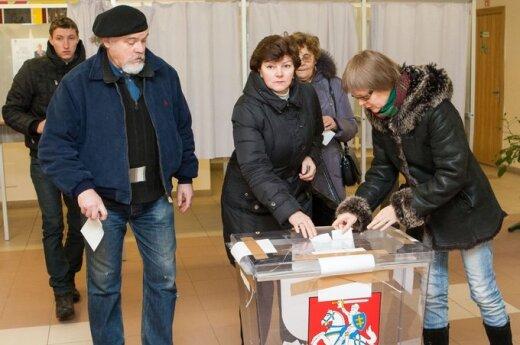 Wybory na Litwie: Są pewne niedociągnięcia