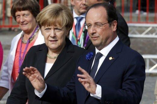 Меркель и Олланд приветствуют газовое соглашение РФ и Украины