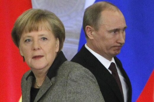 Putin i Merkel omówili sytuację na Ukrainie