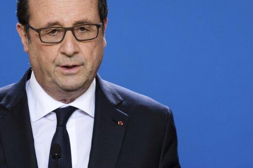 F. Hollande'as nesieks antrosios kadencijos