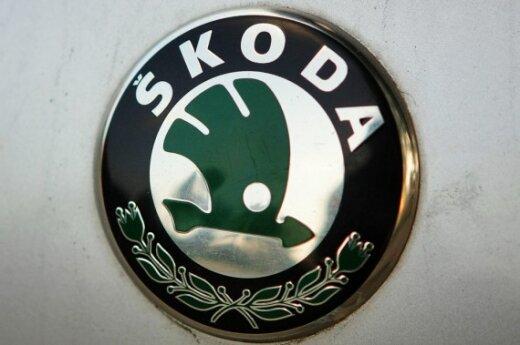 """""""Škoda"""" gamins konkurentą pigiam """"Logan"""" modeliui"""