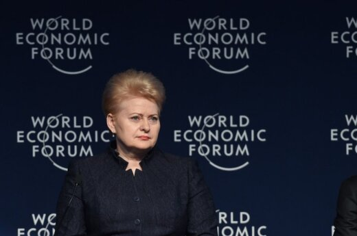 Lithuanian president takes down Russian deputy PM in Davos: This is why our terminal is called Independence
