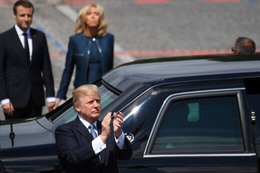 D. Trumpo prezidentavimo pusmetis: buvo geriau nei dauguma laukė?