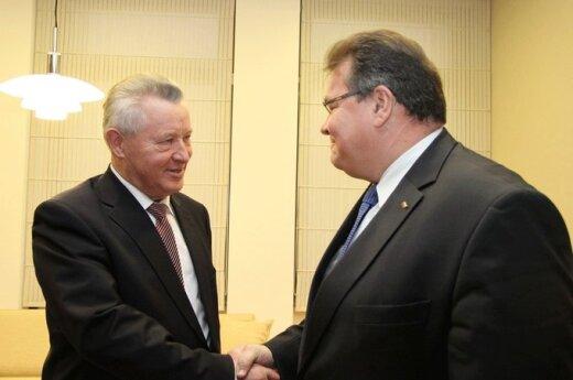 Глава МИД Литвы попрощался к отбывающим послом Беларуси