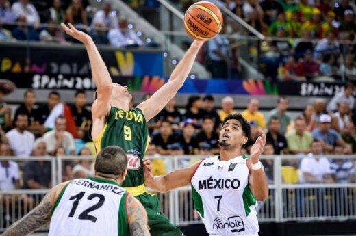 World Basketball Championship; Lithuania-Mexico