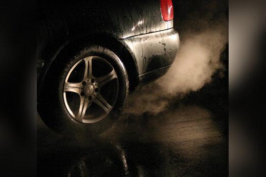 Automobilis, išmetamosios dujos