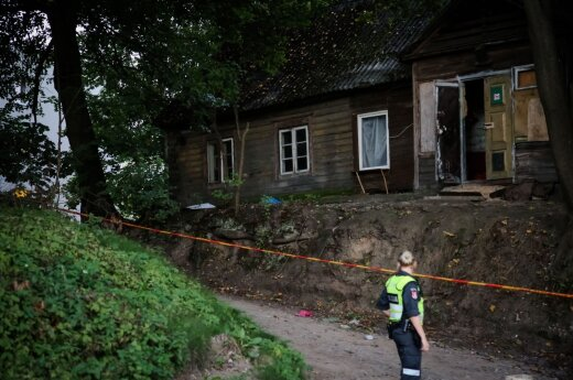 В Ужуписе один человек убит, другой ранен