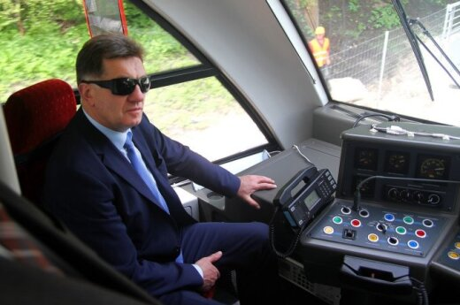 "Algirdas Butkevičius apžvelgė ""Rail Baltica"""