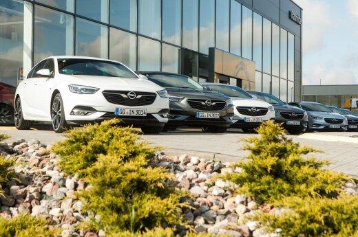 """Lietuvos žurnalistams pristatyta naujos kartos """"Opel Insignia Grand Sport"""""""